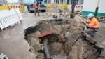 Nach Rohrbruch in der Sagerstraße 34 Stunden ohne Wasser