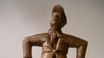 Vegesacker Junge als Skulptur
