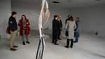 LIL: Baustellen-Besichtigung im neuen Oberstufenhaus der IGS mit Schulleiterin und Kreis-Dezernenten.
