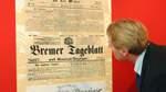 """Den """"Courier an der Weser"""" gab es schon"""