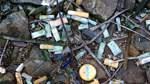 Aktion gegen Zigaretten-Müll am Bremer Hauptbahnhof