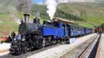 Dampfbahn-Spektakel in den Alpen
