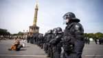 Nach Protest gegen Corona-Maßnahmen in Berlin
