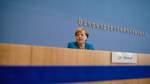 Merkel stimmt Bürger auf schwierige Corona-Zeiten ein