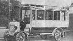 Erster Bus fuhr elektrisch