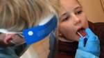 Freiwilliger Coronatest in der Grundschule