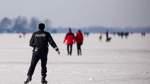 Polizei holt Menschen von Eisflächen in Bremen und Niedersachsen