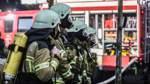 Insgesamt 57 Feuerwehrleute aus Osterholz-Scharmbeck, Scharmbeckstotel und Pennigbüttel rückten zum Schubertring aus; darunter auch knapp 20 Atemschutzgeräteträger.