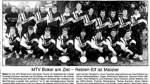 Endlich geschafft: der Zeitungsbericht vom 5. Juni 1992 nach der geglückten Meisterschaft des MTV Bokel. Helmut Niemeyer hockt in der vorderen Reihe als Dritter von rechts.