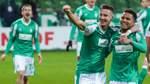 Werder-Held Agu muss über sein Tor lachen