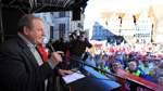 Streik des öffentlichen Dienstes - Demo und Kundgebung auf dem Bremer Marktplatz mit Gastredner Frank Bsirske ver.di-Vorsitzender