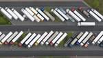 Zu wenig Platz für Lastwagen