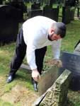 Jüdischer Friedhof Schändung an Gräbern Hastedt