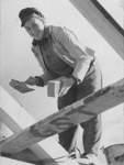 Für Inge Lührs kam vor dem Architekturstudium erst mal das Maurerpraktikum..