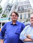 Riesenrad der Schausteller Sascha und Ottfried Hanstein