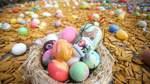 Viele Teilnehmer haben sich große Mühe beim Gestalten der Eier gegeben. Genaues Hinschauen lohnt sich.