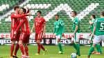 Werder kommt gegen die Bayern glimpflich davon