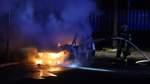 Autos brennen in Bremer Gewerbegebiet aus