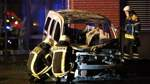 Fahrzeugbrände Funkschneise Bremen