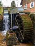 Ein erstes Projekt war die Restaurierung der Welle des Wasserrades – nun läuft es wieder wie geschmiert.