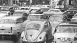 Parken auf dem Domshof? 1961 noch kein Problem.