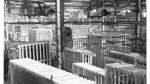 1963: Die Maschinen der in Konkurs gegangenen Borgward-Werke werden abgebaut, um nach Mexiko verschifft zu werden.