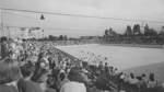 Rund 4.000 Besucher kamen im September 1963 zur Einweihung des Eislauf- und Rollsportstadions in Hastedt.