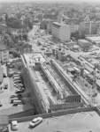 Großbaustelle am Breitenweg im August 1966: Die Bildungsbehörde bekommt einen neuen Dienstsitz.