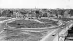1967: Der Bau des Rembertikreisels am Rembertiring schreitet voran.