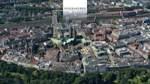 Karsten Klama zeigt Innenstadt und Weser aus der Luft.