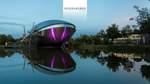 Dank Shirin Abedi können Sie ihren Kolleginnen und Kollegen eines der architektonischen Highlights der Stadt zeigen: das Universum.