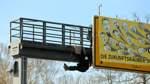Klima Protest Autobahnzubringer Überseestadt Bremen