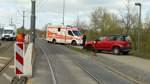 Verkehrsbehinderungen nach Unfall an der Flutbrücke