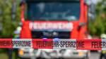 Linienbus brennt auf A270 in Vegesack