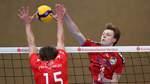 FOTO (C): Bjoern Hake: SPORT // Volleyball 2. Bundesliga, TV Baden-PSV Neustrelitz