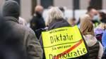 Verfassungsschutz beobachtet Teile der Corona-Protestbewegung