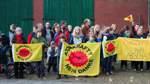 Mahnwache für die Atom-Opfer