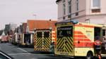 Fünf Verletzte bei Zimmerbrand