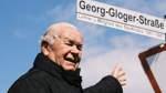 Frisch eingeweihte Georg-Gloger-Straße erschließt neue Siedlung
