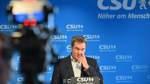 Statement CSU-Chef Markus Söder
