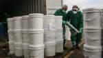 Chemikalien aus Beirut kommen in Norddeutschland an