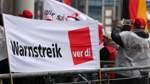 Kommunale Reinigungskräfte demonstrieren in Bremen