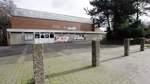 Neue Halle in Delmenhorst wird am Eingang zum Stadiongelände gebaut