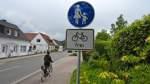 Radfahrer nur noch geduldet