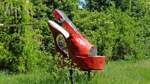 Durch die Timke-Wälder vorbei am roten Damenschuh