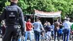 """Polizei im Corona-Einsatz: """"Oftmals Unverständnis und Pöbeleien"""""""