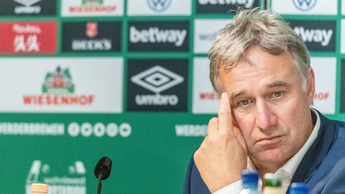Pressekonferenz Werder Bremen