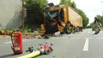 Schwerer Unfall an der Stapelfeldstraße
