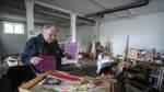 Das Atelier wird geräumt