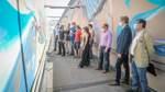 Kunstwerk lässt Tunnel und Aufgänge erstrahlen